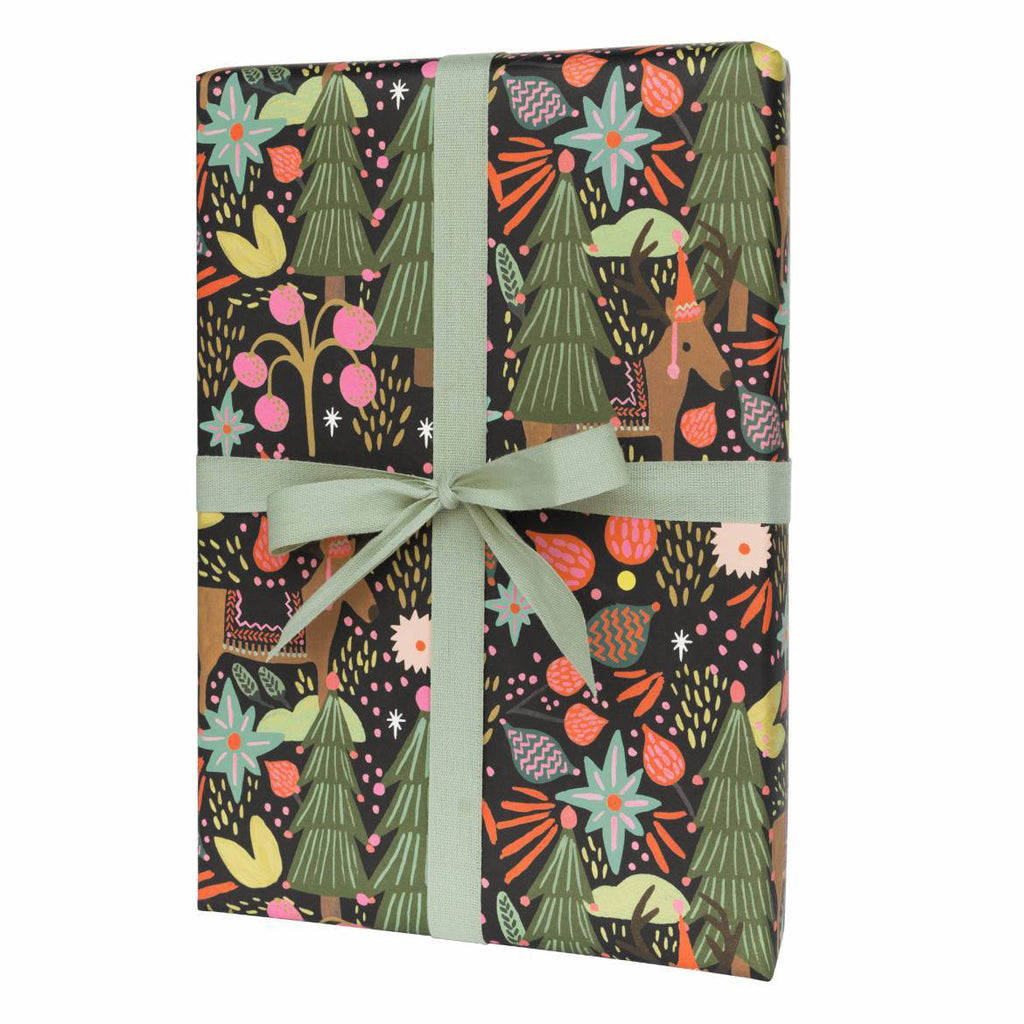 Feliz Navidad - Three Christmas Wrapping Paper Sheets from Rifle Paper Co.