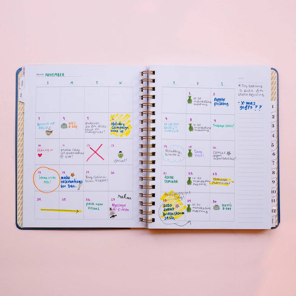 4 Monthly Calendars