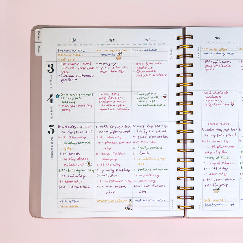 Week-at-a-Glance Planning