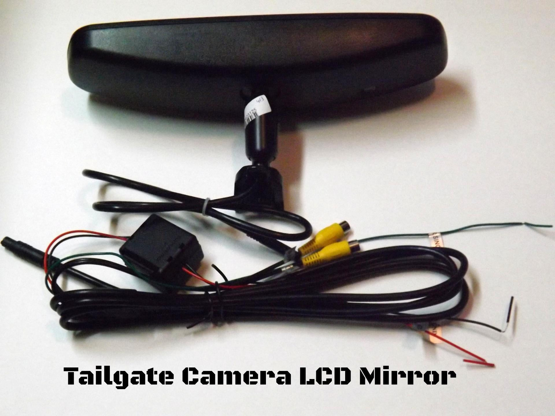 oem replacement rear view mirror   lcd display    cam backup cameracom