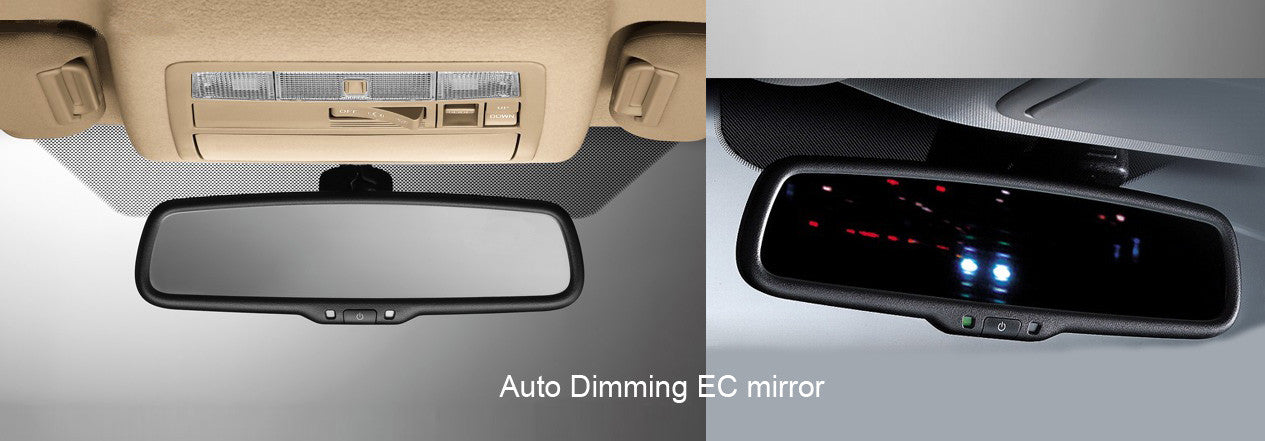 OE Fit Replacement Rear View Mirror with Auto Dim and 4.3 Rear Camera Display