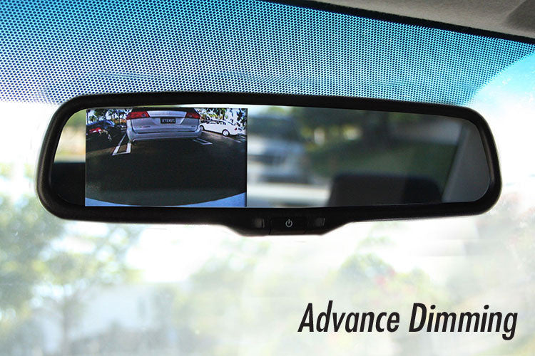 "Auto dimming OEM Replacement Rear view Mirror with 4.3"" LCD Display for Back Up Camera"