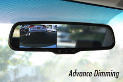 "Auto dimming OEM Replacement Rear view Mirror with 4.3"" LCD Display for Back Up Camera - Backup Camera"