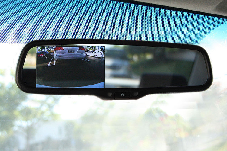 "OEM Replacement Rear view Mirror with 4.3"" LCD Display for Back Up Camera"