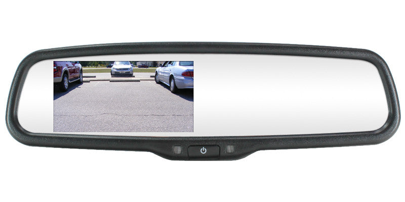 Auto Dimming Oem Replacement Rear View Mirror With 4 3