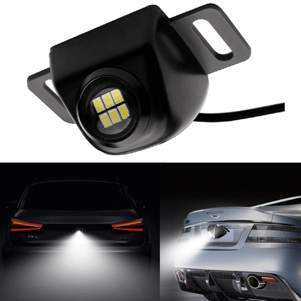 SUPER BRIGHT 6 LED BACKUP CAMERA ILLUMINATION LIGHT