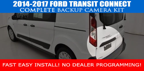 "Ford Transit Connect Backup Reverse Camera Kit for 4.2"" Display"