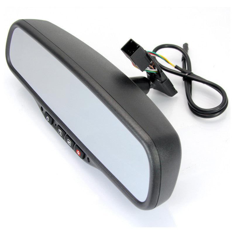 "OE Style 4.3"" Rear View Mirror Monitor with OnStar for Chevrolet, Buick, GMC and Cadillac - Backup Camera"