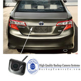 Lip / Trunk Ledge Mount Back Up Camera Universal W/ Optional Parking Lines - Backup Camera