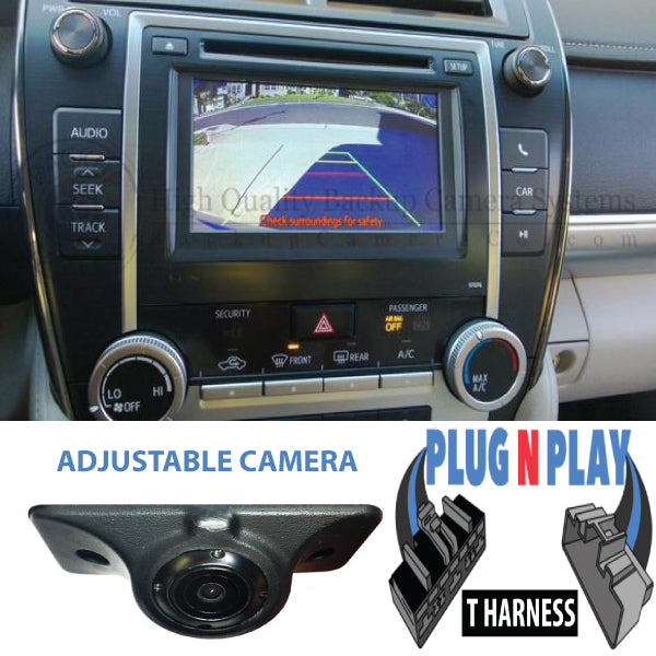 Backup Camera Kit For Toyota Camry, Prius, Rav4, Corolla