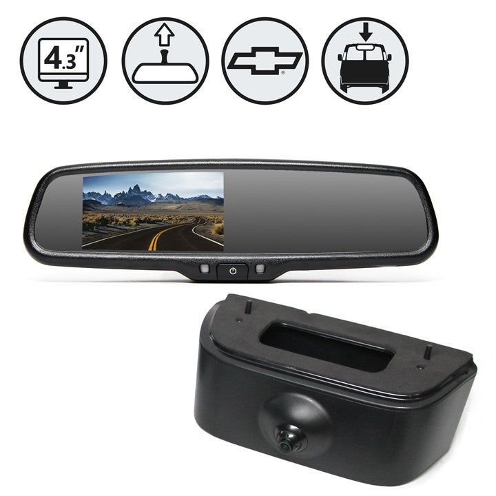 BACKUP CAMERA SYSTEM FOR CHEVY CITY EXPRESS VAN