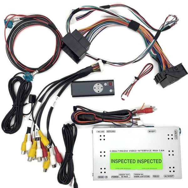 OEM Integrated Reverse Camera Viewing System for 2012-2016 BMW 5 Series