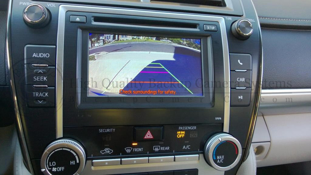 Toyota Display Audio/Entune Backup Camera Kit - Camry, Corolla, Prius, on