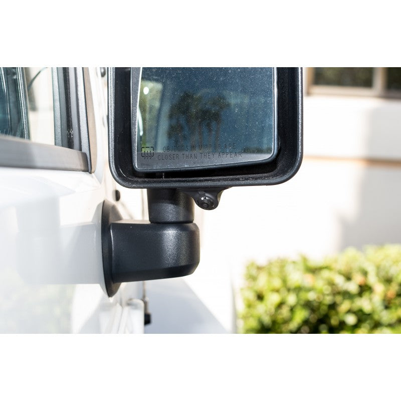 FLEXIBLE HOUSING SELF-ADHESIVE BLIND SPOT CAMERA - Backup Camera