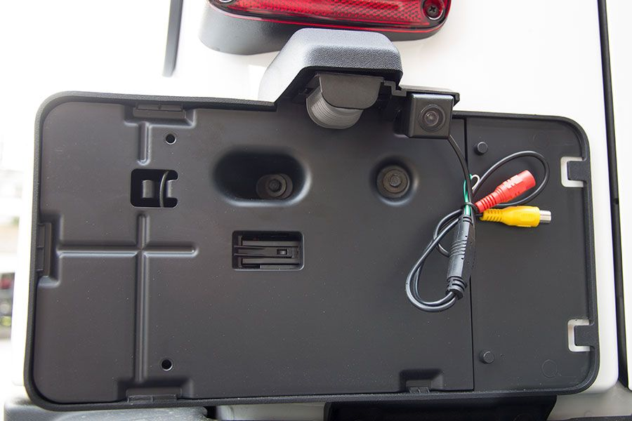 install wireless backup camera on jeep wrangler