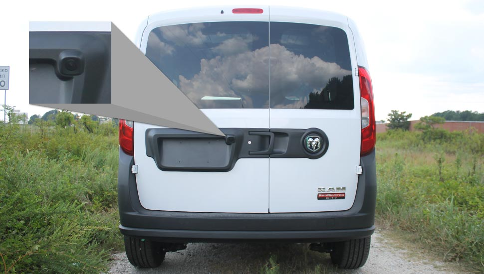 Ram ProMaster City Backup Camera