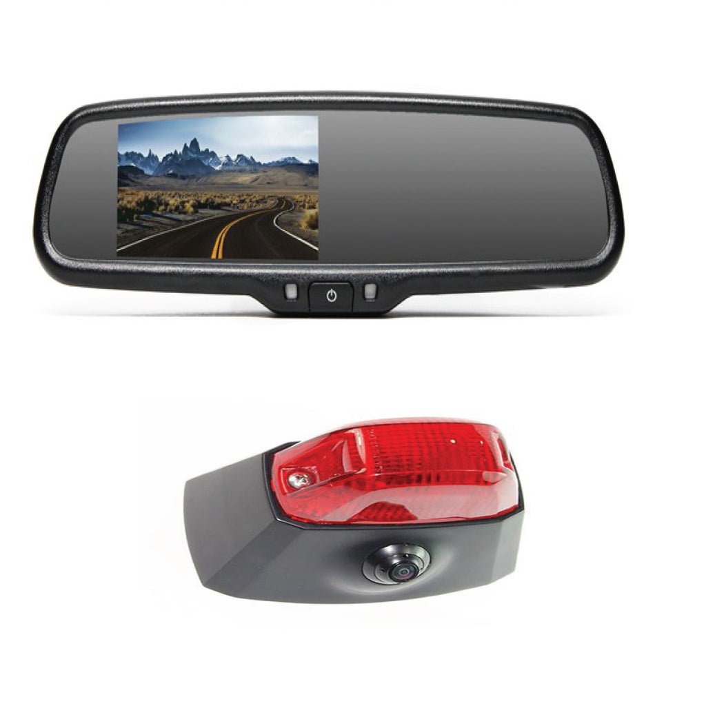 DODGE PROMASTER VAN BACKUP CAMERA KIT