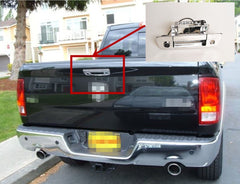 Dodge RAM Chrome Tailgate  Handle Rear view/Back Up Camera with NightVision and Parking Guidance Lines