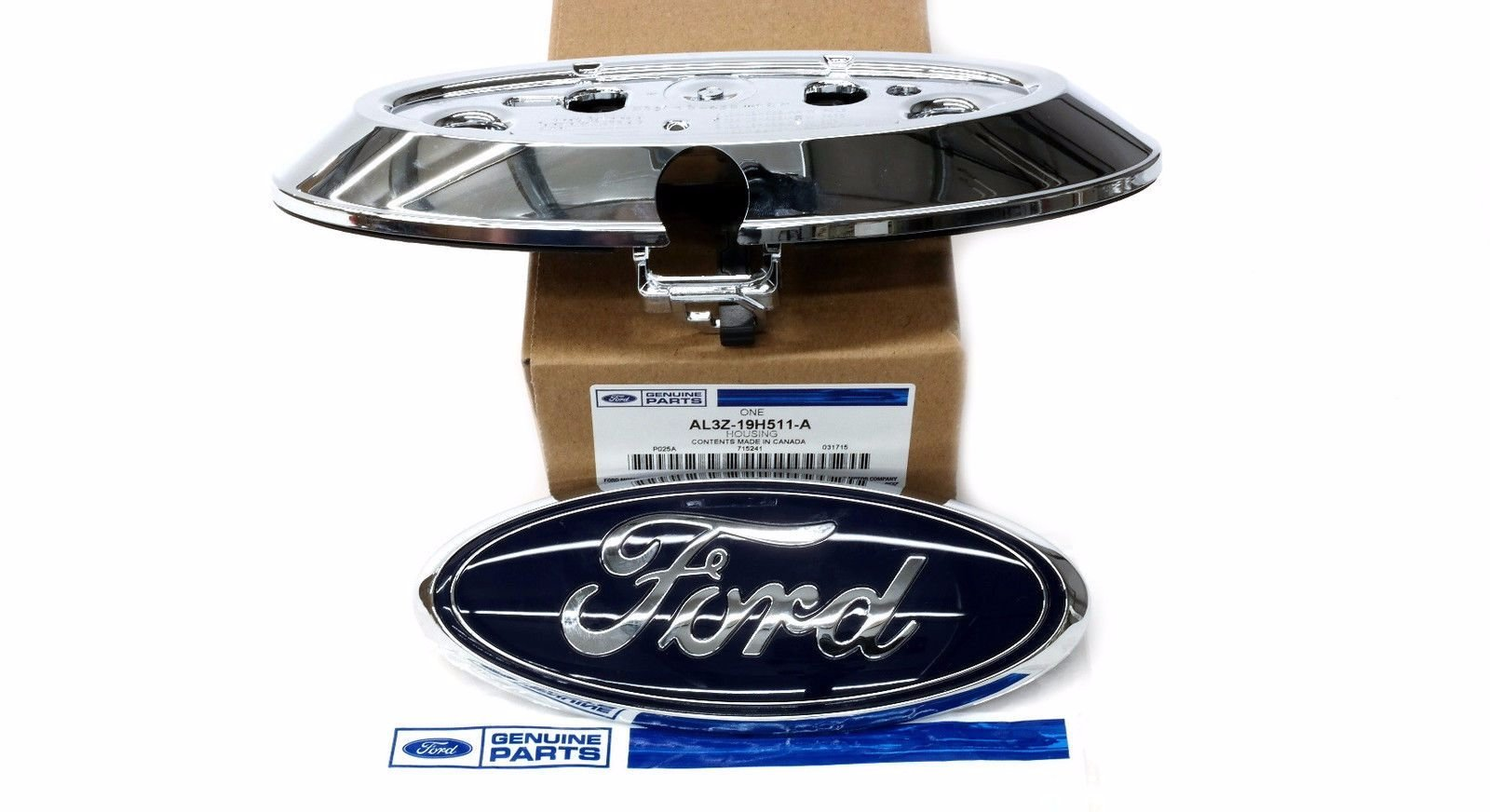 Ford Emblem Factory Fit Camera & Name Plate - Backup Camera