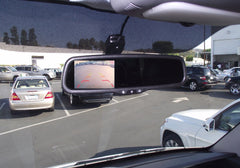 "Sprinter 4.3"" LCD Mirror - Backup Camera"