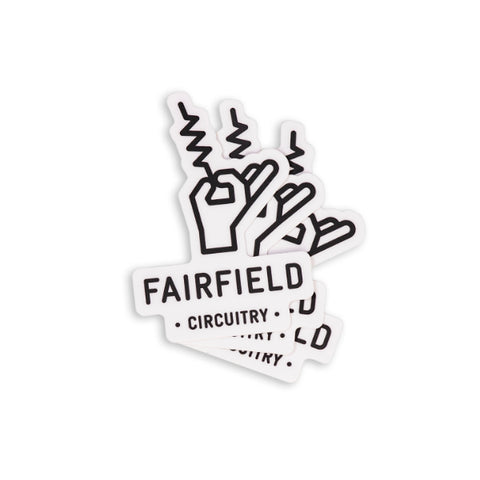 Fairfield Circuitry Sticker