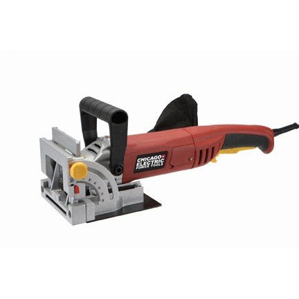 "4"" Plate Joiner 120 volts, 6 amps, 10,000 RPM, 60 Hz, single phase; Includes carbide tipped blade and arbor wrench"