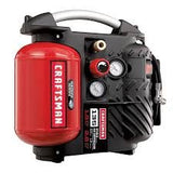 Craftsman AirbossTM 1.2 Gallon Oil-less Air Compressor and Hose Kit.