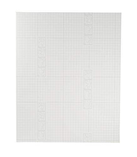 Pack of 10, 16x20 Self Adhesive Foamboard for Picture and Poster Mounting, Lightweight White Color Foam Board for Crafts, Artworks, School Projects, 3/16 inches Thick