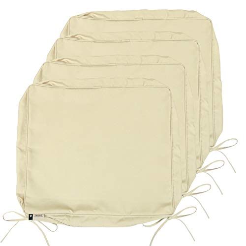 Outdoor Cushion Covers 4 Pack Deep Seat Patio Cushion Cover Heavy Du Wufair