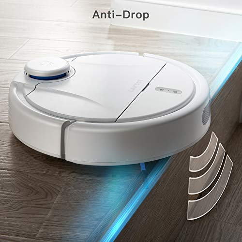 Lambot A1 Robot Vacuum,Smart Navigation with 2200Pa 180mins Runtime,Robotic Vacuum Cleaner Good for Clean Hard Floors,Pet Hair and Low-Pile Carpet,Alexa Compatible