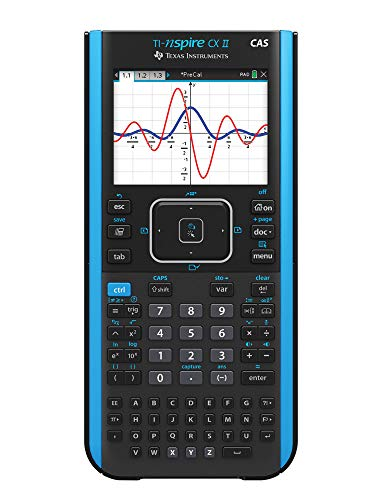 Texas Instruments TI-Nspire CX II CAS Color Graphing Calculator