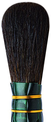 da Vinci Gilding Series 710 Double Quill Gilder Mop, Oval Blue Squirrel Hair, Size 8