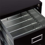 Pemberly Row 2 Drawer Letter File Cabinet in Black