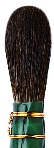 da Vinci Gilding Series 710 Double Quill Gilder Mop, Oval Blue Squirrel Hair, Size 4