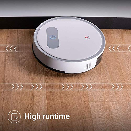 Lefant M300 Robot Vacuum Cleaner,1200Pa Strong Suction,Super Quite Robotic Vacuums Cleaner,Cleans Pet Hair,Hard Floors to Medium-Pile Carpets,White