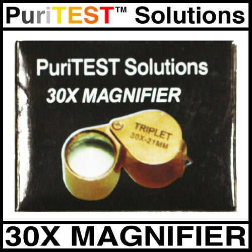 PuriTEST Pack of Test Acids Plus Electronic Scale Machine, Diamond Loupe, Silver and Gold Bars and More!
