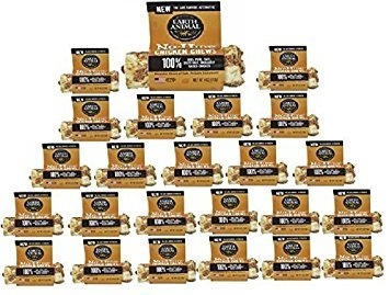 (24 Pack) Earth Animal No-Hide Chicken Chews 4""