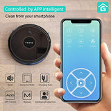 GOOVI Robot Vacuum, 1600PA Robotic Vacuum Cleaner with Wi-Fi, Super-Thin, Self-Charging Robot Vacuum Cleaner, Best for Pet Hairs Hard Floors & Medium-Pile Carpets