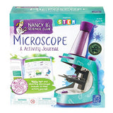 Educational Insights Nancy B's Science Club Microscope and 22-Page Activity Journal, 400x Magnification, Science for Kids