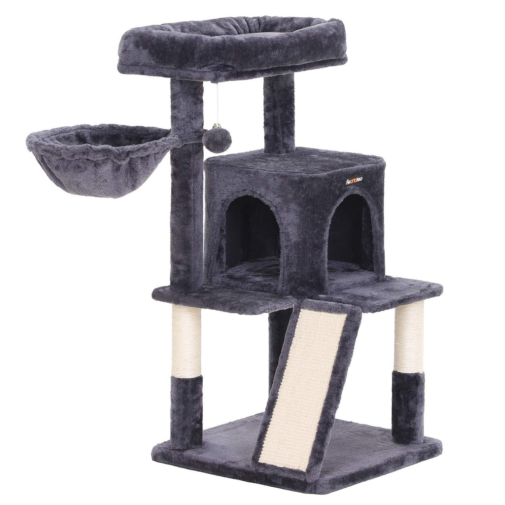FEANDREA Cat Tree with Sisal-Covered Scratching Posts UPCT51G