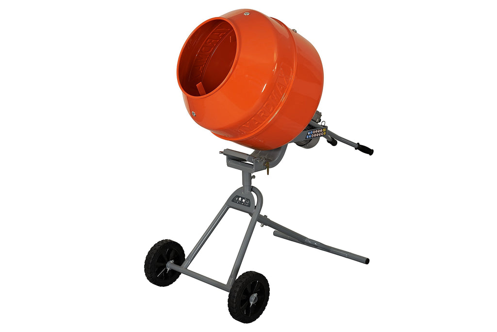 Yardmax YM0146 5.0 cu. ft. Concrete Mixer 3/4 HP