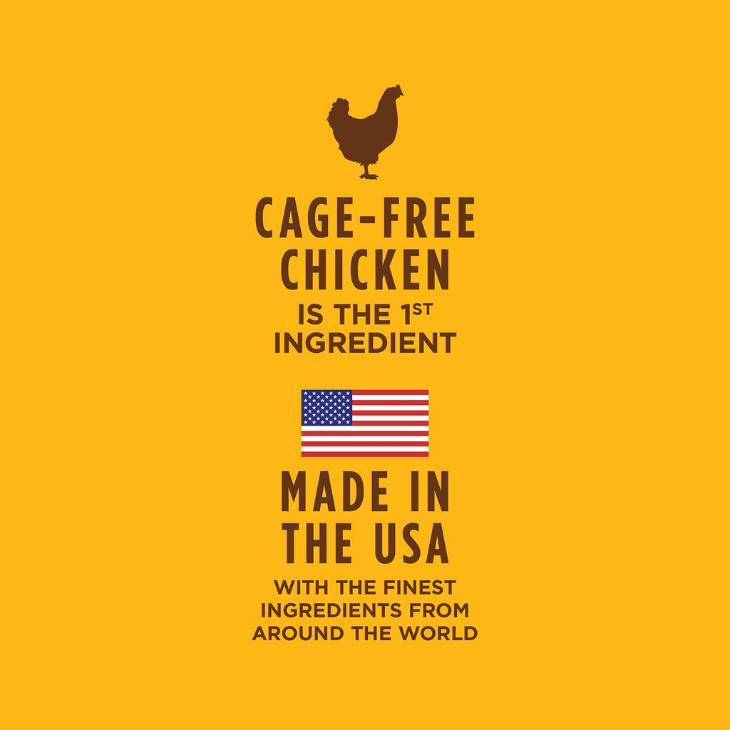 Instinct Ultimate Protein Grain Free Cage Free Chicken Recipe Natural Wet Cat Food Topper by Nature's Variety, 3 oz. Pouches (Case of 24)