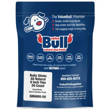 ValueBull Bully Sticks, Thin 6 Inch, 50 Count - All Natural Dog Chews, Rawhide Alternative