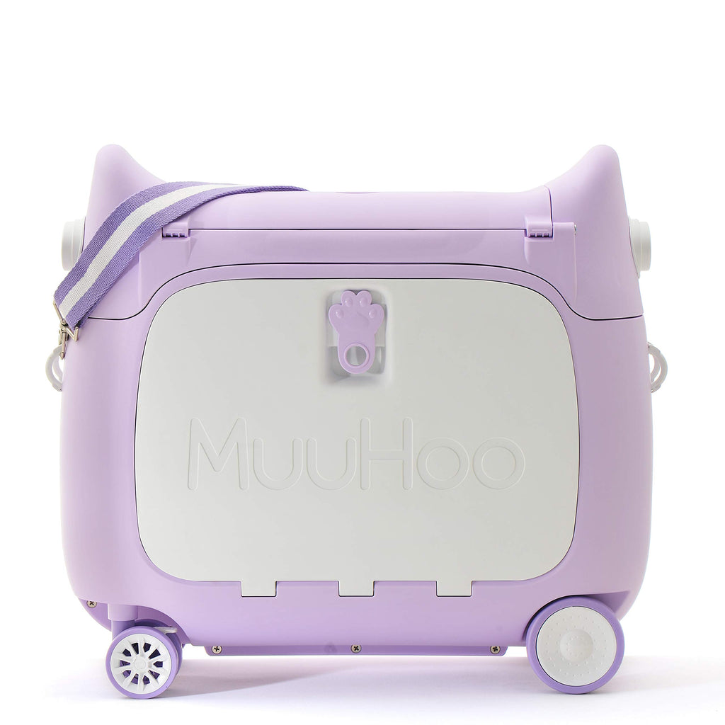 Animor Kids Travel Partner Ride On Suitcase And Carry On Luggage