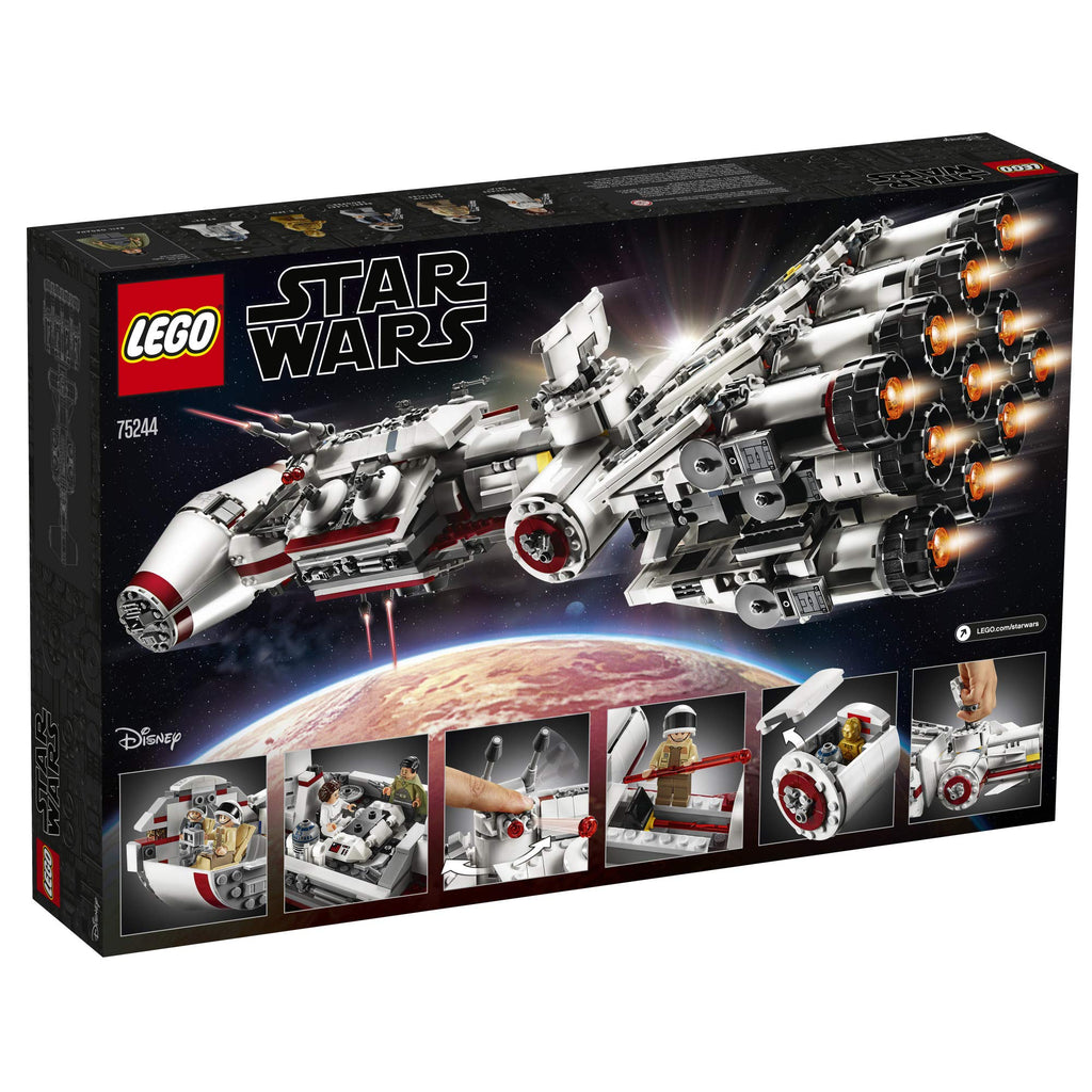Lego Star Wars A New Hope 75244 Tantive Iv Building Kit New 2019 17 Wufair
