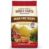 Whole Earth Farms Grain Free Recipe Dry Dog Food, Pork, Beef & Lamb, 25-Pound