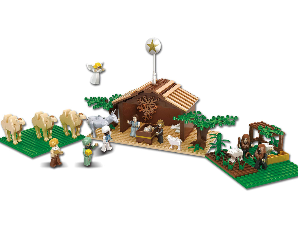Nativity Bricks Ultimate Kids Nativity Set