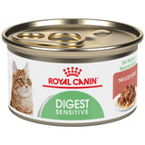 Royal Canin Feline Health Nutrition Digest Sensitive Thin Slices in Gravy Canned Cat Food, 3 Ounce Can (Pack of 24)