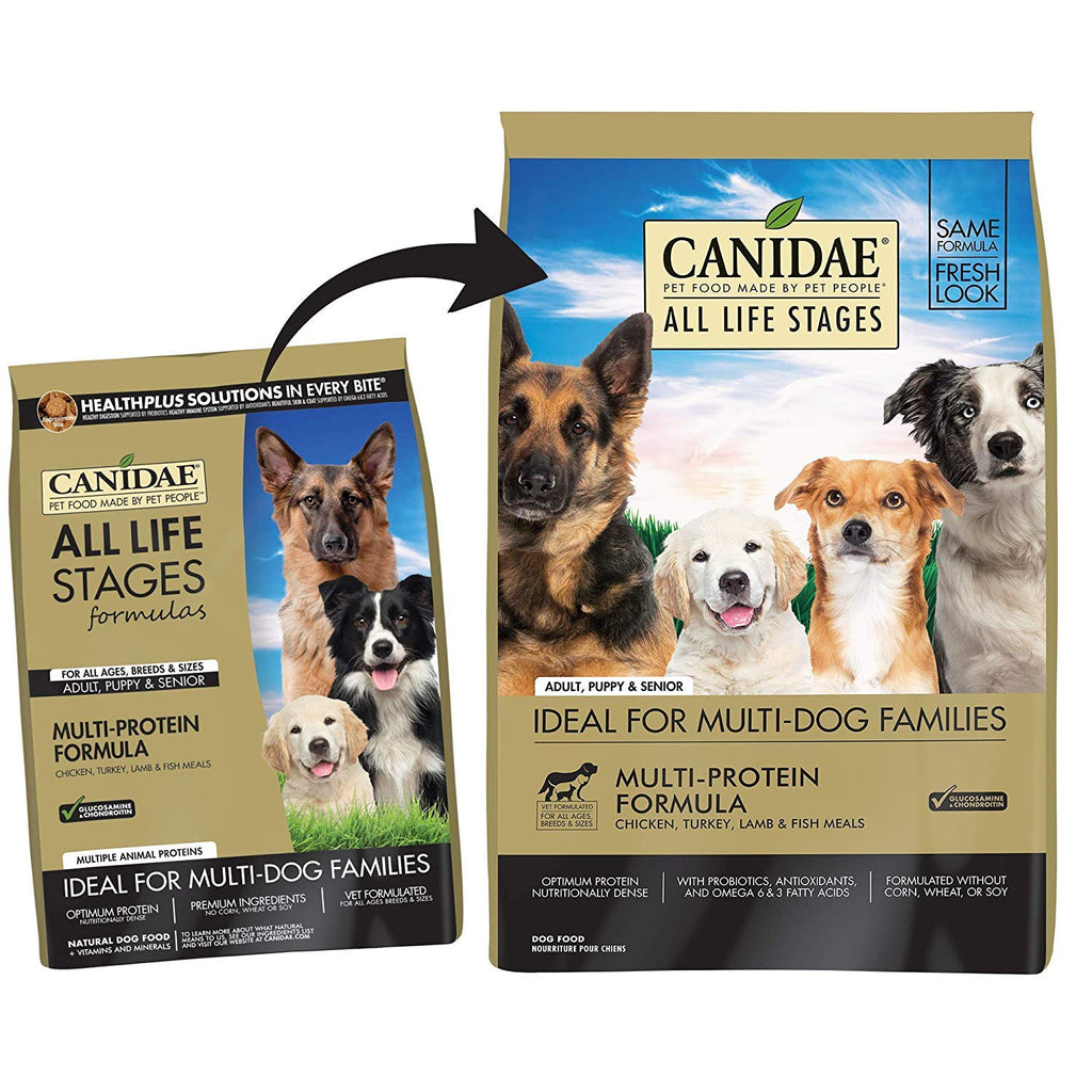 CANIDAE All Life Stages, Premium Dry Dog Food, Multi-Protein Formula