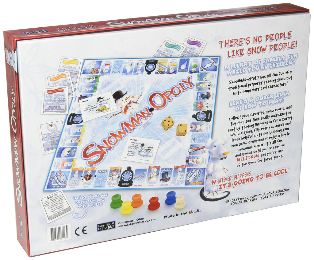 Late for the Sky Snowman-opoly